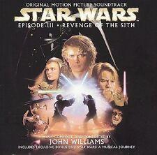 Star Wars: Episode III - Revenge of the Sith [CD + DVD] ** John Williams **