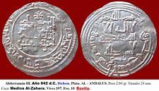 Hispano Árabe. Abderramán III. Año Safar 330 H. Dírhem Plata. Medina Al-Zahara.