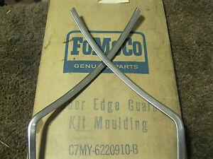 NOS 1967-1968 Mercury Meteor, Montclair, Monterey Door Edge Moulding