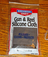 New Gun & Reel Silicone Cloth Cleaning Cleans Polishes Protect Protects Rag Wrag