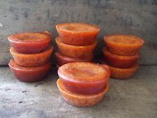 24 Wax Melts lot of 12 Spiced Pumpkin & 12 Cinnamon Tarts