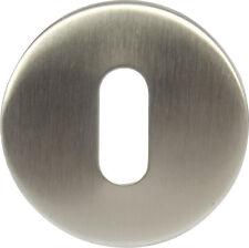 Hafele brushed steel escutcheon standard keyway for concealled fixing