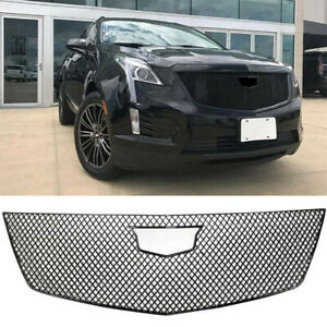 Cover Grille For 2017-2020 Cadillac XT5 Grill Trim Guard Gloss Black ABS Painted