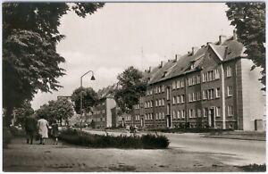 Postkarte Güstrow Neukruger Straße, s/w, 1961,RAR