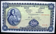 1975 £10 TEN POUNDS