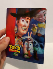 Toy Story 2 3D lenticular Flip effect for Steelbook