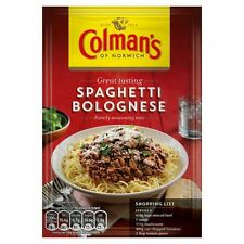 Colman's Spaghetti Bolognese Mix - 44g - Pack of 8 (44g x 8)