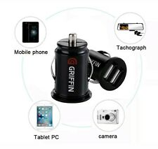 GRIFFIN Twin USB In Car charger cigarette lighter adapter for iPhones,Samsungs