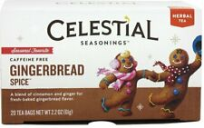 Gingerbread Spice Holiday Tea by Celestial Seasonings, Pack of 2