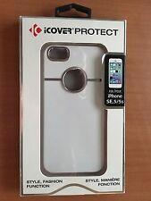iCOVER PROTECT CASE for iPHONE SE & 5 & 5S (White)