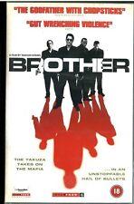 Rare UK VHS Timecode Pre-is Japanese US violent gangster thriller BROTHER Kitano
