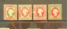 Heligoland 1873  Four stamps