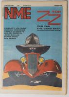 NME magazine 17 November 1984 ZZ TOP Cabaret Voltaire Giorgio Moroder