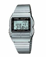 BRAND NEW CASIO DATABANK WORLD TIME WATCH DB520A-1AV **UK SELLER**