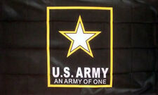 US ARMY STAR FLAG 5' x 3' USA American Military United States America TO CLEAR *
