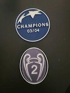 2003 - 2004 CHAMPIONS LEAGUE FC PORTO TROPHY 2 TIMES WINNER 03/04 PATCH BADGE