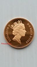1988*GB*BADGE OF PRINCE OF WALES PROOF TWO PENCE 2P COIN / BIRTHDAY GIFT YEAR
