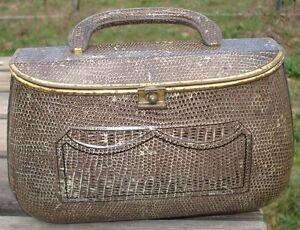 Bag Fancy Pencil Case Basket Meals Senior Boys School Rare Tin Bread Box 1920's