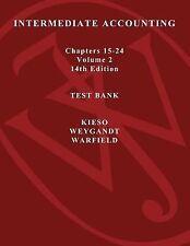Intermediate Accounting, Test Bank Vol. 2
