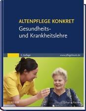 Altenpflege konkret - Gesundheits- und Krankheitslehre, 5. Auflage, NEU/OVP