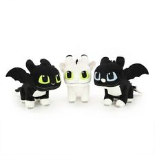 """1 SET OFFICIAL LICENSED How to Train Your Dragon 3 Night Light Plush Doll 8"""""""