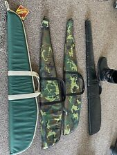 Soft Padded Rifle Cases! Four Of Them, Never Used! excellent deal !