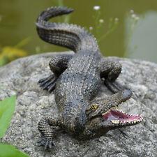 8.1'' Realistic Alligator Crocodile Wild Animal Figure Toy Kids Christmas Gift