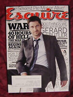 ESQUIRE August 2009 Gerard Butler Mary Louise Parker Francis Ford Coppola