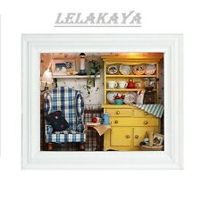 DIY Doll House wooden doll houses Room Decoration Kit Room miniature home Decor