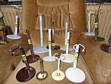 Puppenständer 1 St.oder 5.St.// für Normpuppen Holz oder Metallfuß - Div.Größen