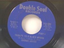 "BARNIE HAYES ""TRIBUTE TO A BLACK WOMAN / PART 2"" 45"