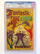 Fantastic Four #59 CGC 9.6 (WHITE pages)