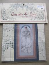 Lavender & Lace Cross Stitch Chart Victorian Designs White Lace Bride LL040