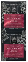 APIVITA EXPRESS BEAUTY ANTI- WRINKLE & FIRMING FACE MASK WITH GRAPE 2x8ml