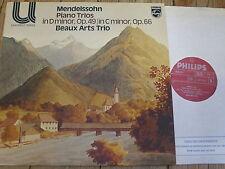 6580 211 Mendelssohn Piano Trios in D minor & C minor / Beaux Arts Trio