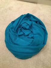 100% Cashmere Wool Scarf Shawl Wrap Handmade Fine Knit Nepal Pashmina Christmas