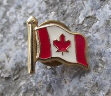 More details for canada maple leaf national canadian flag official tie pin brooch pin badge