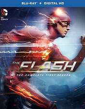 Flash: The Complete First Season (Blu-ray Disc, 2015, 4-Disc Set)