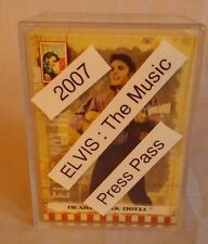 Elvis Presley King of Rock The Music Complete set Press Pass Trading Cards 2007