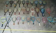 Racquet Ball MASSIVE LOT Racket WILSON RODDY OMEGA RTS OMNI GRAPHITE ARROW Rare