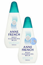 2 x ANNE FRENCH DEEP CLEANSING MILK 200ML