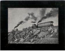 Vintage Mounted Photo - Summit of Pike's Peak near Colorado Springs, CO