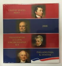 2008 US MINT PRESIDENTIAL $1 COIN UNCIRCULATED SET FROM BOTH P&D MINTS UNOPENED