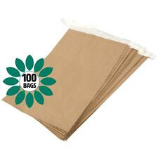 More details for eco friendly paper mailing manilla brown bag/sack - 330 x 100 x 485mm - 100 bags