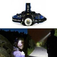 T6 LED 18650 Headlamp Headlight Flashlight ZOOM Head Torch Lamp Light Deko