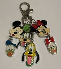 Mickey, Minnie, Donald, Daisy, Pluto And Goofy Keyring