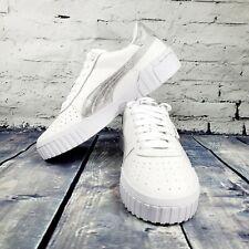 Puma Cali Metfoil Leather Platform Casual Sneakers