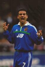 WIGAN: ANDY LIDDELL SIGNED 6x4 ACTION PHOTO+COA