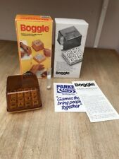 Boggle by PARKER Vintage 1978 Edition 100% Complete Dice Word Making Game