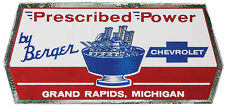 Berger Perscribed Power Grand Rapids Michigan Sticker Decal Hotrod Gasser Racing
